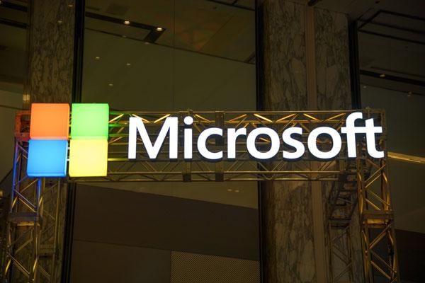 微软所持现金高达1366亿美元(约5663亿令吉)。(彭博社)
