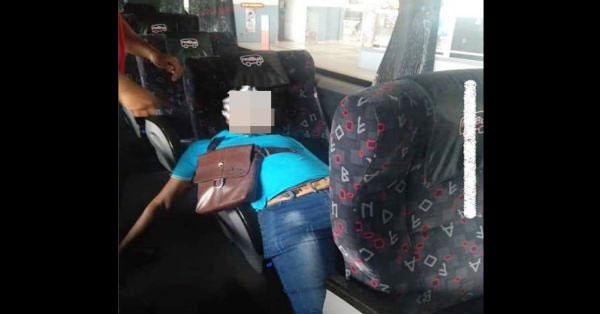 孟加拉籍男子暴毙在长途巴士座位上。