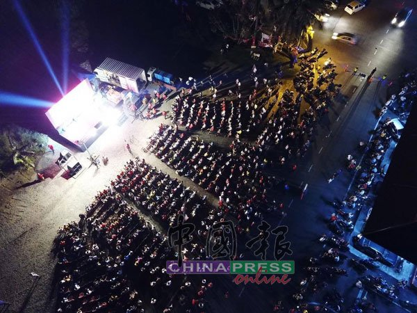 行动党在北干那那新市镇举办的讲座,场面座无虚席。