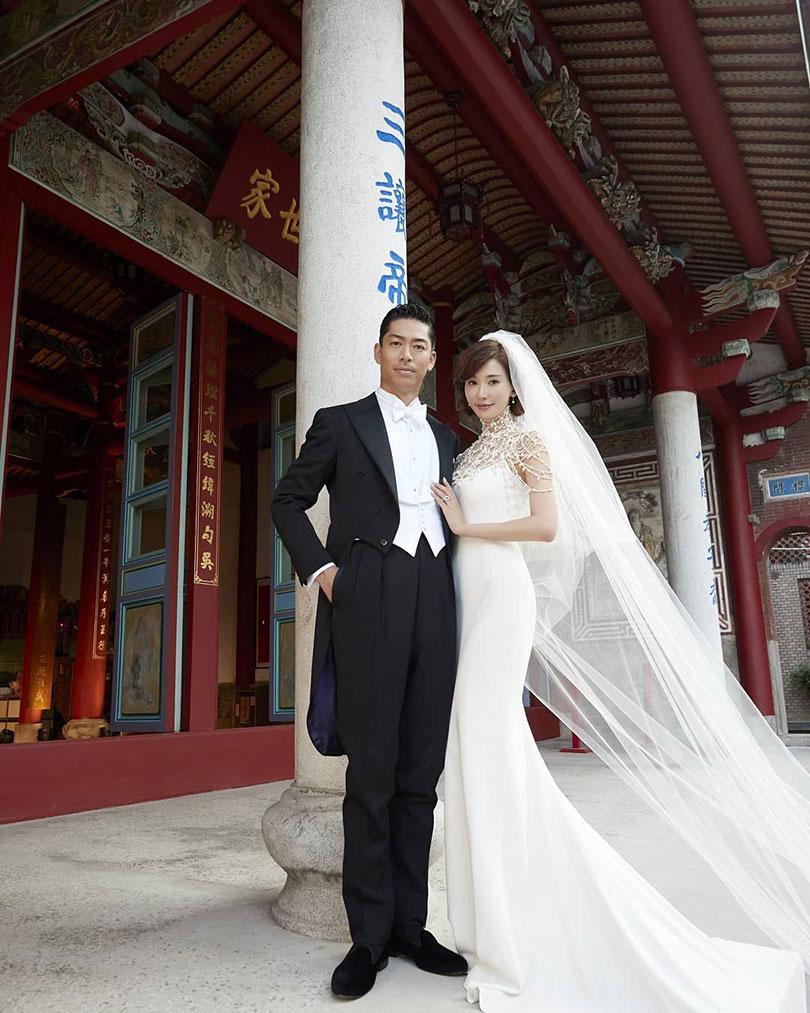 林志玲的婚服,是有钱都买不到。(图/IG)