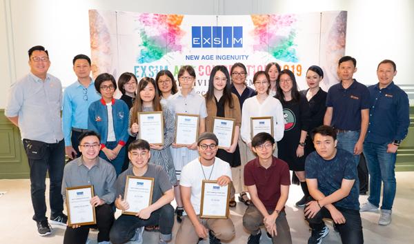 达尔尚纯美系在读学生近期在奕心集团(EXSIM Group)举办的美术比赛中,横扫所有奖项与总额1 2500令吉的奖金。
