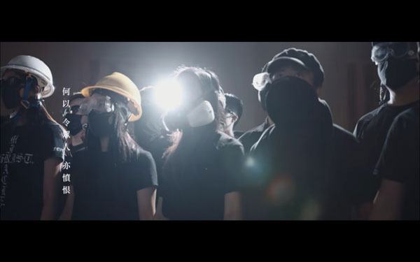 """香港YouTube 2019回顾,《愿荣光归香港》登顶""""十大热门本地音乐影片""""。"""