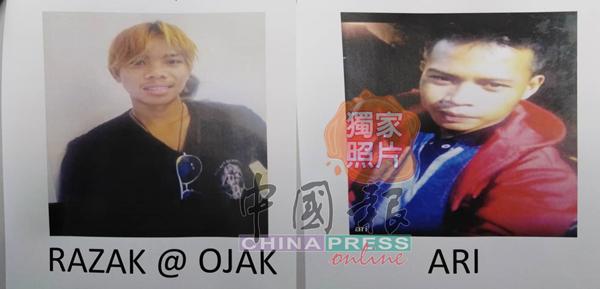 警方急晤拉萨(左)及阿里(右),协助调查3尸命案。