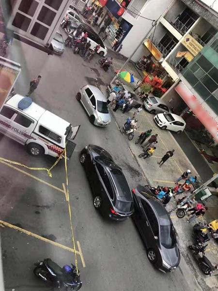 警方事后封锁现场,展开调查。