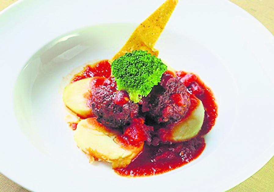 牛肉丸是瑞士、欧陆传统节庆会有的家常菜。