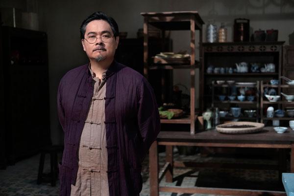 温绍平饰演的潘先生是丽兰的父亲。