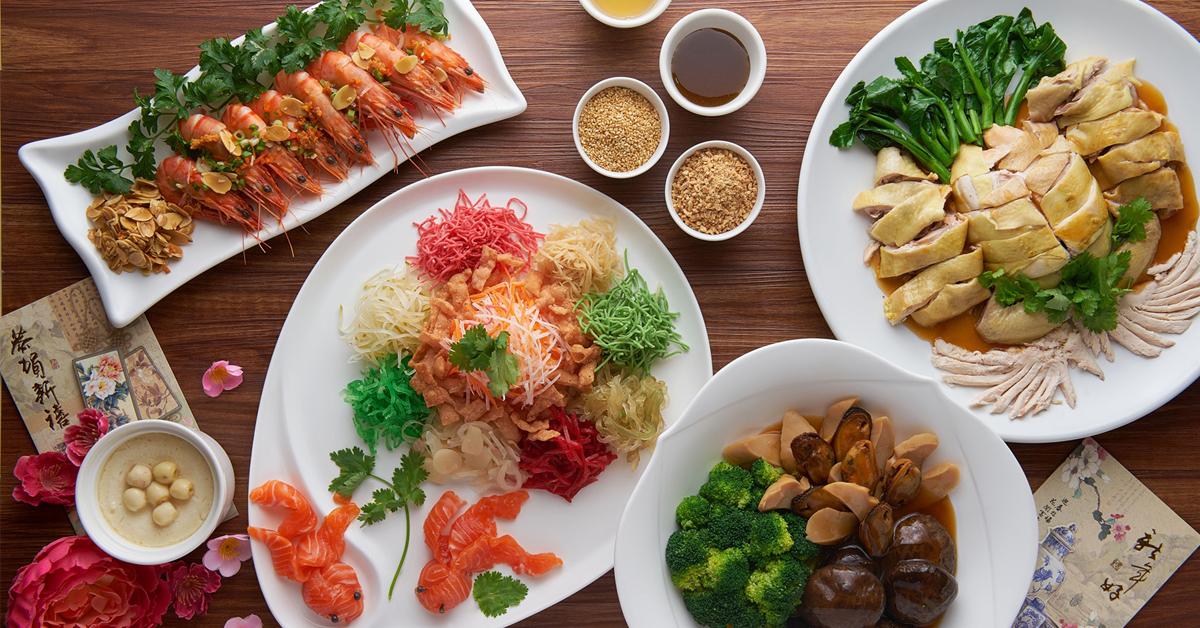 龙凤厅的特备团圆饭套餐丰富又好意头。