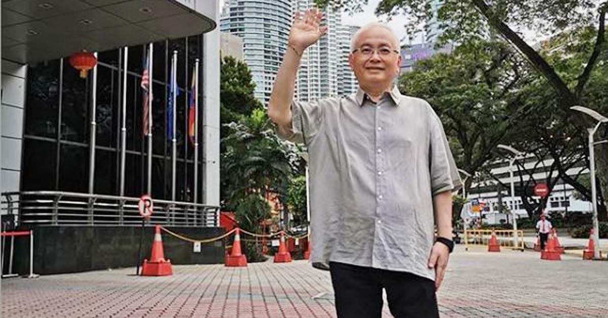 魏家祥在马华总部完成2019年最后一天工作的照片后,祝愿我国人民明年的生活会更好。(取自魏家祥instagram)