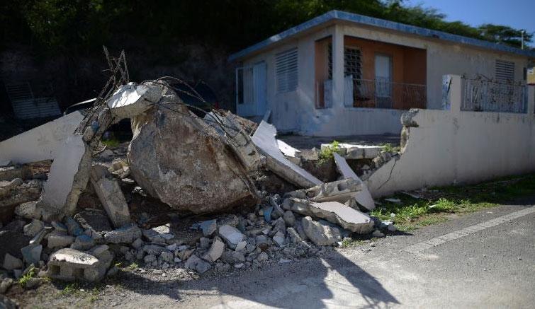 部分房屋损坏情况。