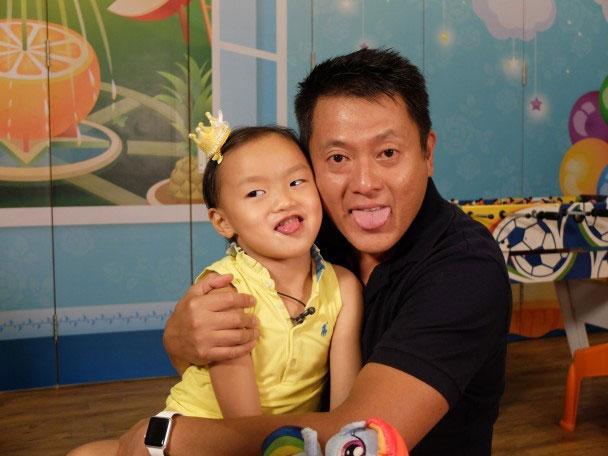 魏骏杰表示此时心目中只有女儿。