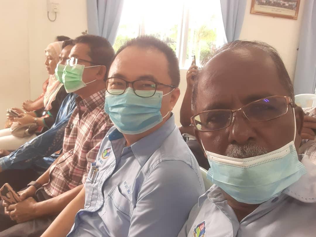 瓜冷县议会林斗益(右2)也有出席交流会。