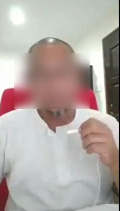 男子发表煽动性言论被捕。