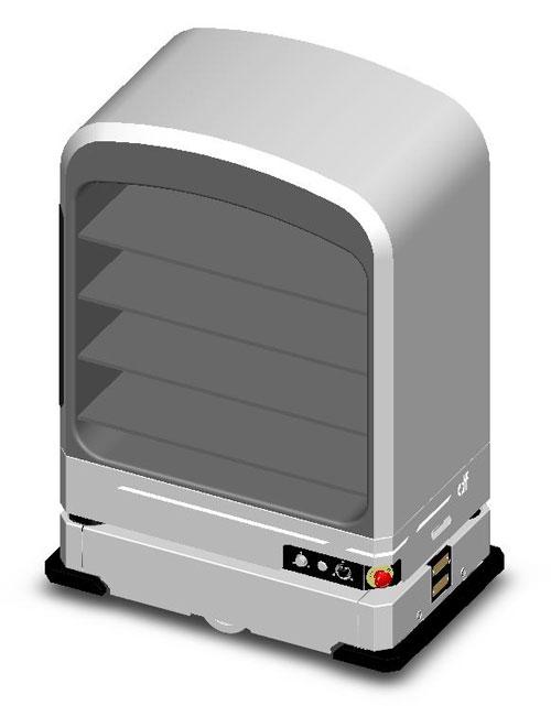 马来西亚工艺大学发布MCK19机器人的示意图。
