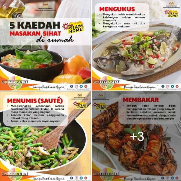 卫生部营养组向国民举荐5种在家烹饪健康食物的方法。
