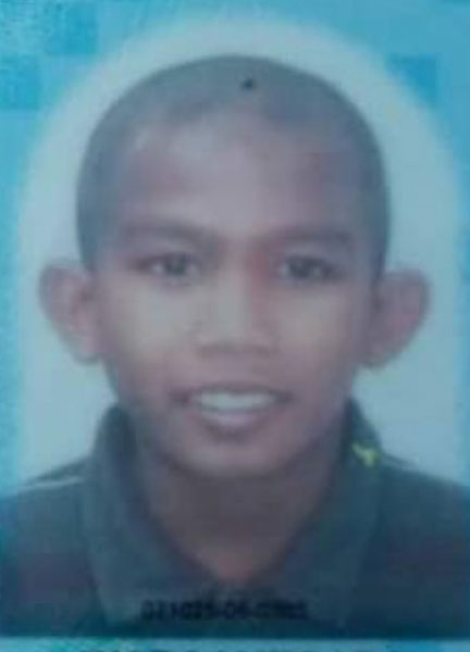 13岁少年莫哈末奥哈迪坠河后下落不明。
