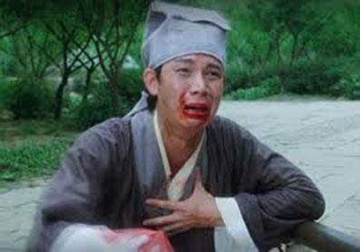 在《唐伯虎点秋香》中,卖身葬父一幕十分经典。图/互联网