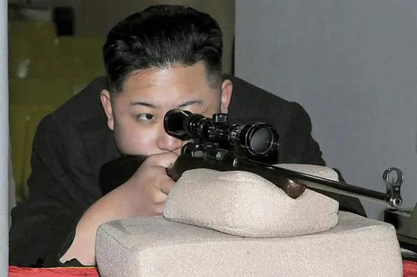 金正恩3岁学开枪? 朝鲜修正:是4岁!