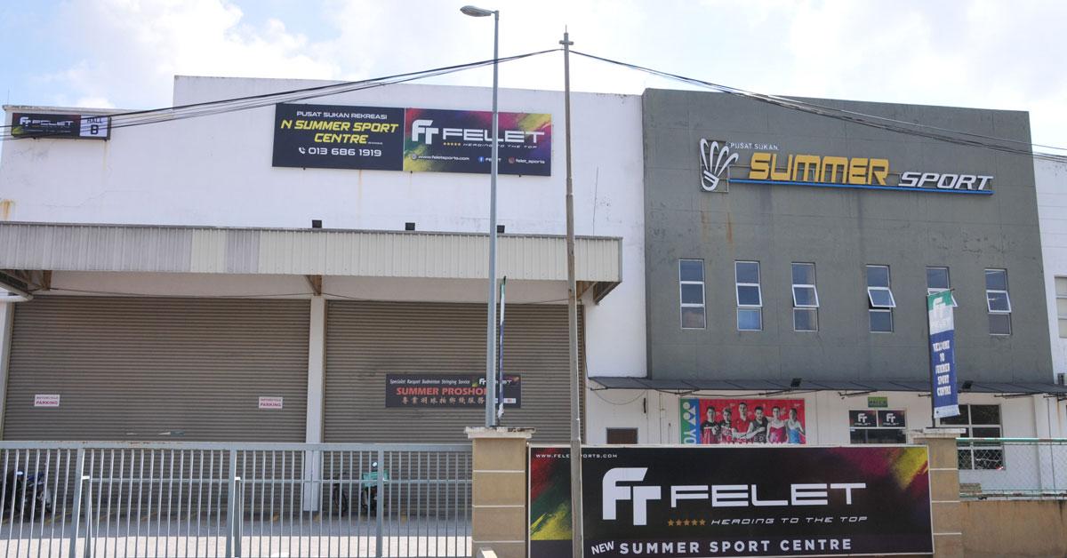 羽球体育馆在管制令期间不能营业,有业者更是自掏腰包苦撑。