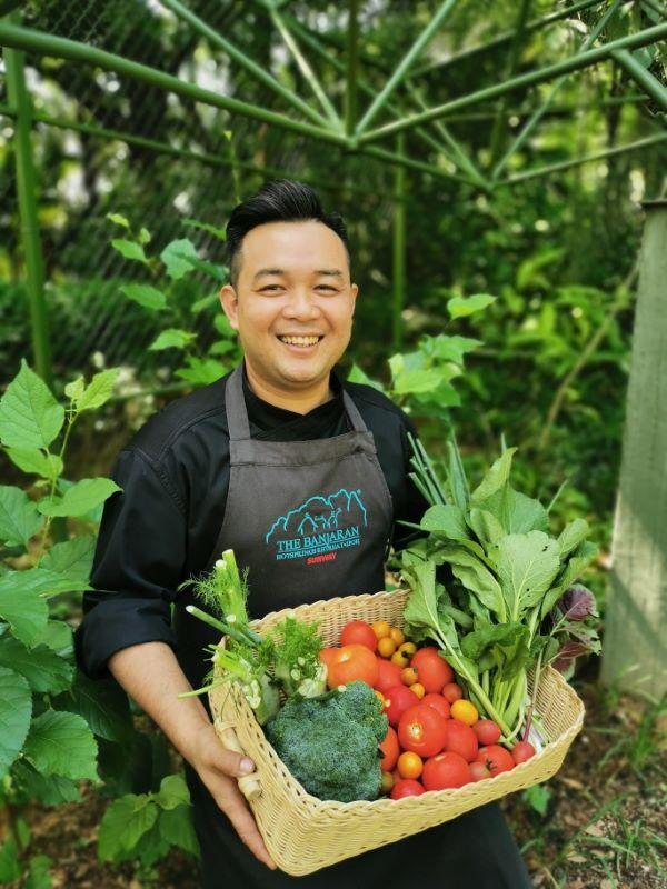 Chef Boon是The Banjaran Hotsprings Retreat的餐饮主厨,因此特以他的名字命名其中一个有机农场。