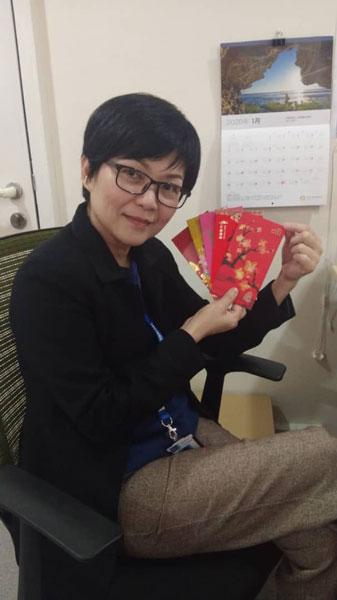 林丽叶也在社交平台,公开了邱紫君的近照,不少网友赞她依然美丽。(图/林丽叶FB)