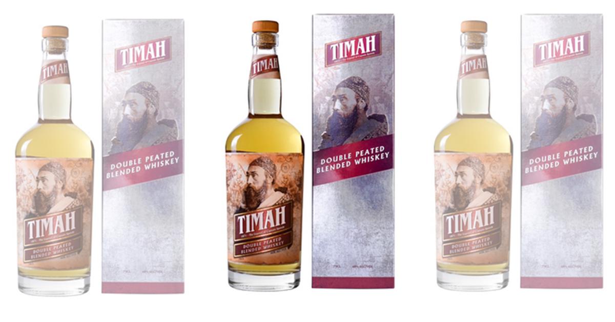 大马威士忌Timah在世界赛获银奖。
