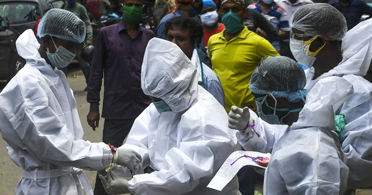 印度最近一周每天新增超过5万例确诊病例。