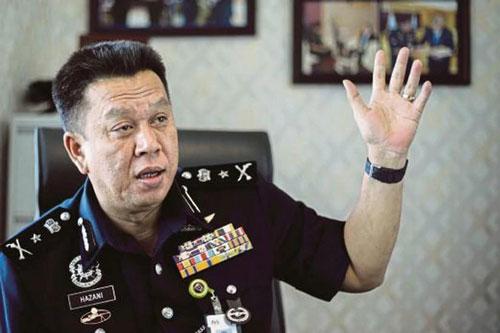哈扎尼将接任沙巴警察总监一职。