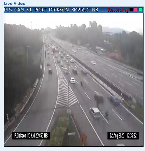 南北大道野新往波德申方向交通行駛緩慢。