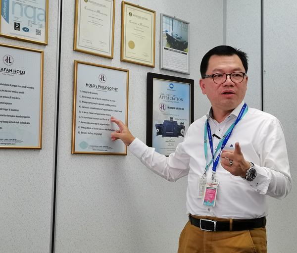 冯允康: 为客户提供更多保护品牌利益的选项。