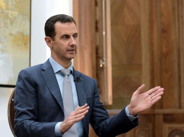 叙利亚总统巴夏。