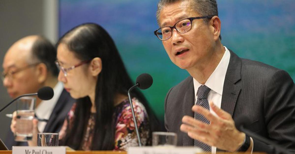 陈茂波估计,今年香港的财政赤字,将达到3000亿港元。