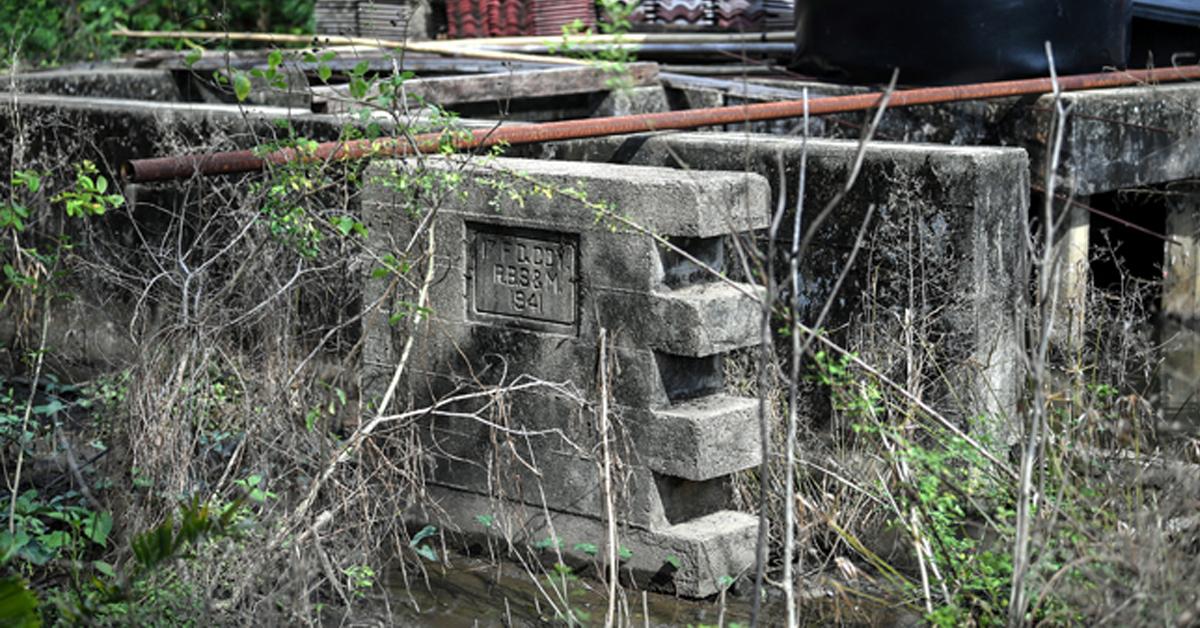 位于武吉槟榔英军建筑的堡垒古迹。