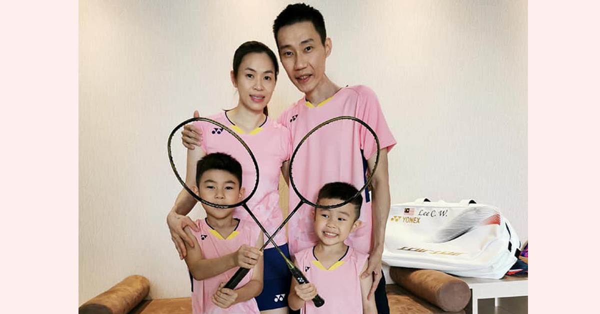 今天是李宗伟的38岁生日,爱妻黄妙珠与两个儿子的生日祝福,肯定令李宗伟倍感甜蜜。(李宗伟面子书截图)
