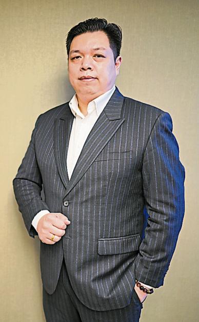 朝陵集团行销顾问曾启鸿。
