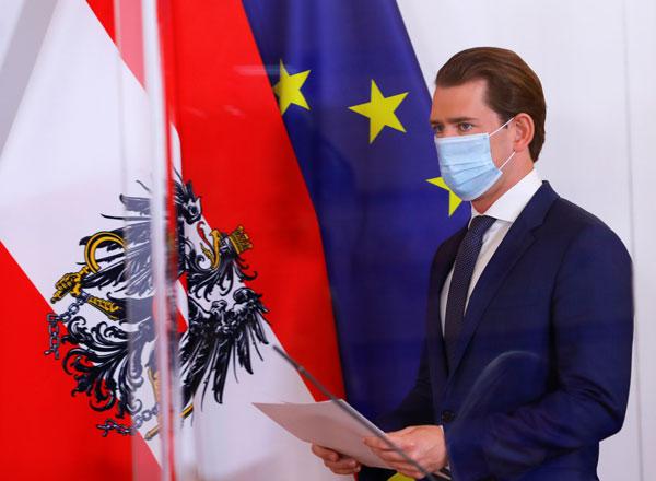 奥地利总理库尔茨。