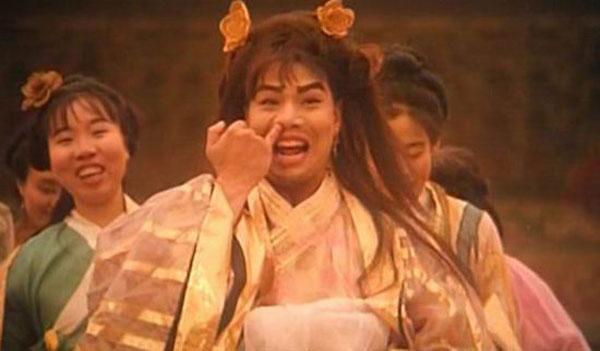 """李健仁在周星驰电影中扮演""""如花""""打开知名度。"""