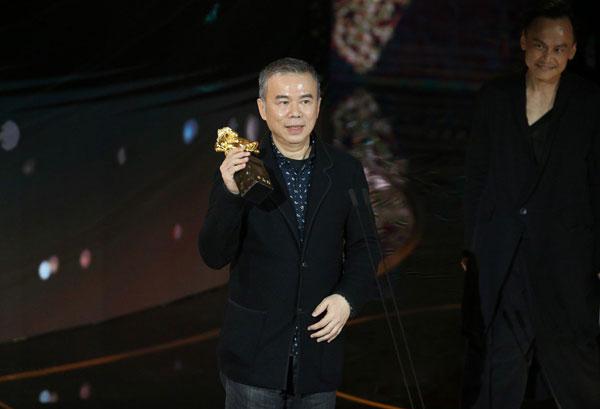台湾导演陈玉勋编导的《消失的情人节》横扫5奖成为大赢家。
