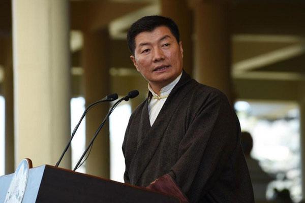 中国西藏流亡政府藏人行政中央司政洛桑森格。