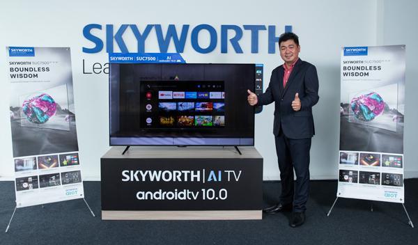 SKYWORTH 推出的Android电视相信能增添消费者现实生活中的乐趣。