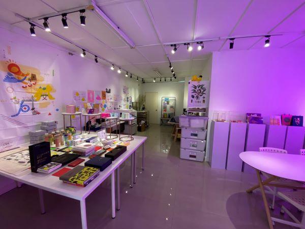 TSUBAKI Design Studio 办公室。