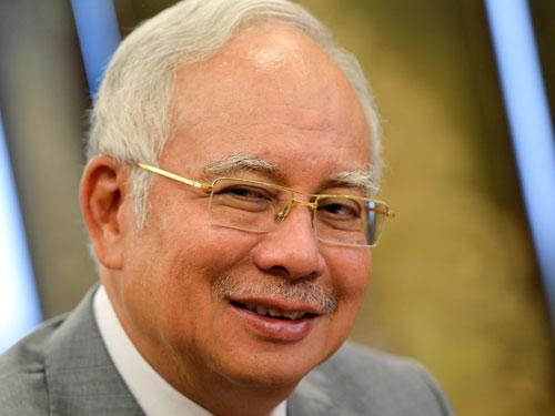 前首相拿督斯里纳吉(档案照 )