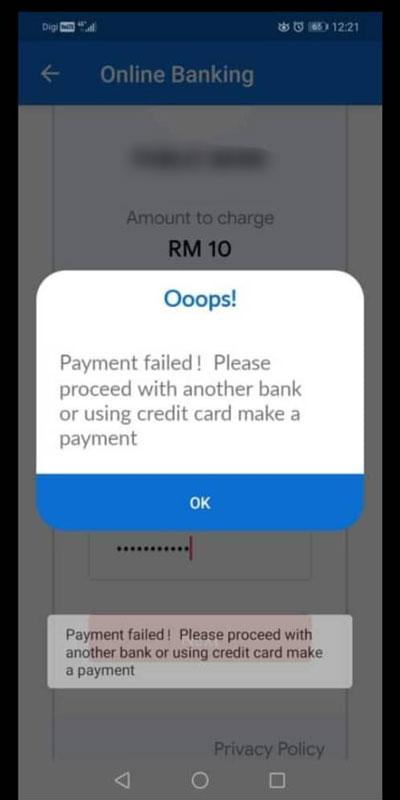 事主透过银行线上转帐失败后,便陆续接获银行发出存款被转走的短讯。