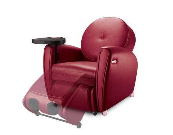 简易转换沙发、腿部按摩和歇脚凳模式