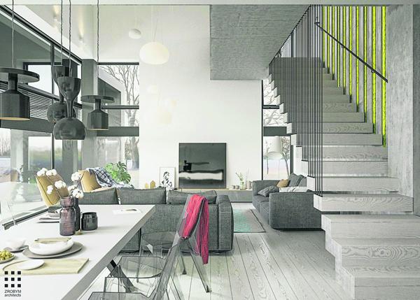 灰色家具在色调、纹理及质感上,骨子里常不经意散发出随性的自由感,粗糙中藏有细腻,低调中张扬个性。如用在主题墙配色,可打造出一个简约纯粹的质感空间,也可与其他材质相互混搭,碰撞出令人惊艳的现代时尚感。