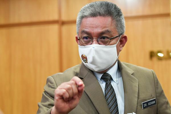 卫生部长拿督斯里阿汉峇峇。(档案照)