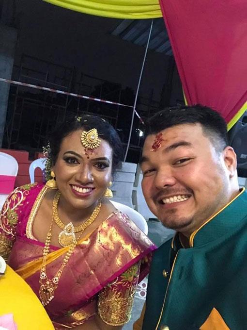 李伟仁相信是名华印混血,他刚在3年前娶了印裔妻子。