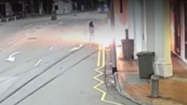 意外发生时,龙俊伟的未婚妻胡秀惠尝试趋前救人,结果身体被大火严重烧伤。(档案照)