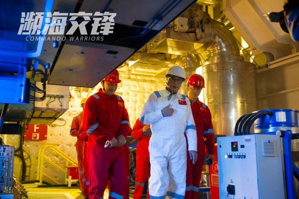 吴孟达在电影《濒海交锋》饰演海洋科学家。