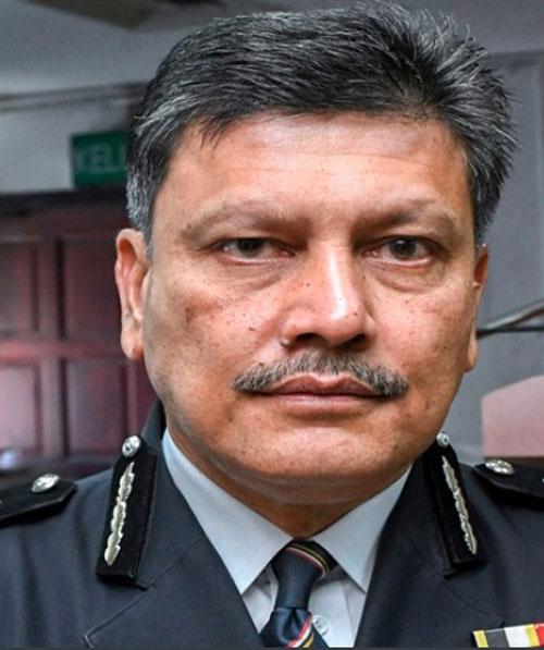 新任吉隆坡总警长拿督阿玆米。