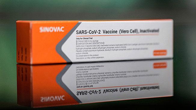 智利93%的疫苗是来自中国的科兴疫苗。